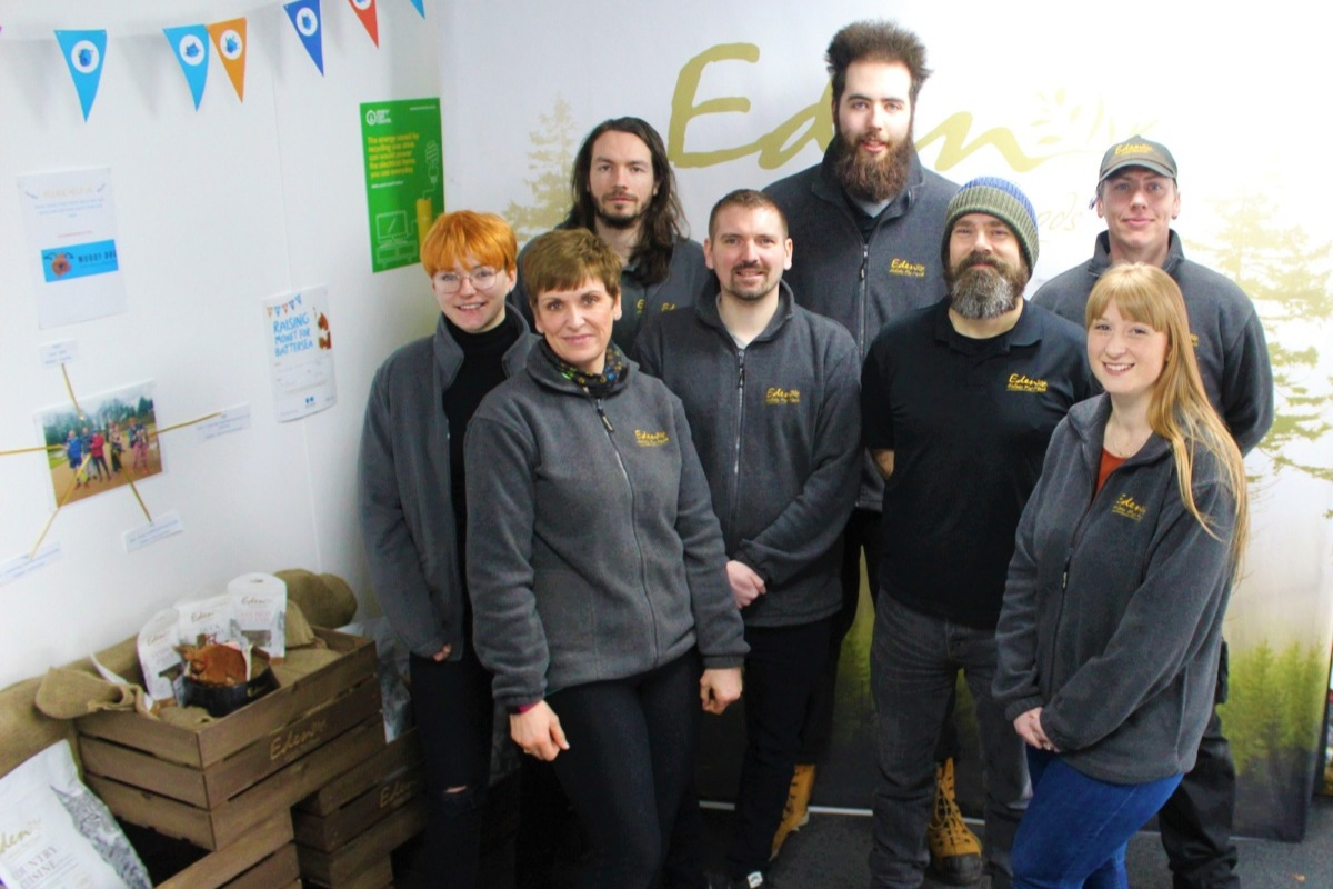 The Eden Muddy Run Team